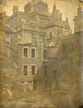 View of Candlemaker Row, Edinburgh